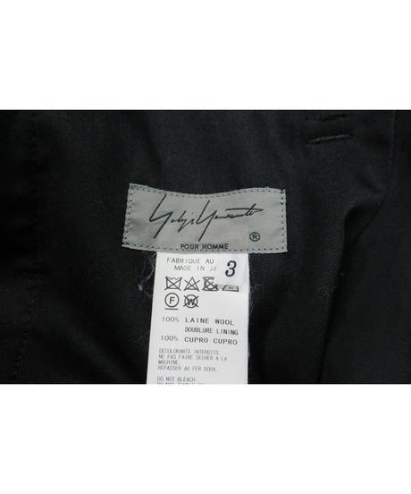 17ss yohji yamamoto POUR HOMME シンプル紐パンツ HD-P06-100