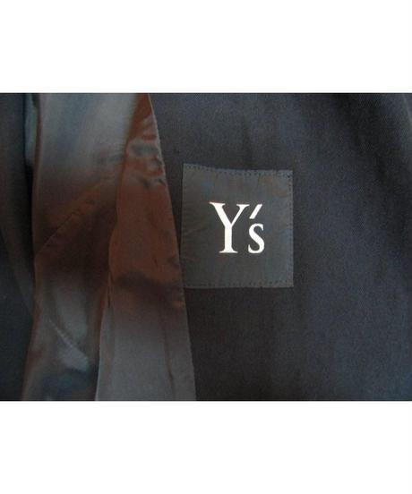 オールド Y's yohji yamamoto femme vintage ピークドラペルダブルジャケットス