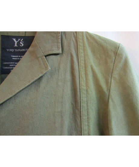 Y's yohji yamamoto femme 素材切替ジャケット