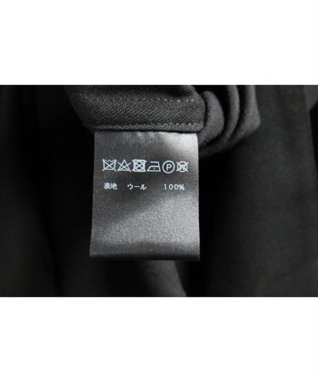 CLOSE GAME MASAYUKI MIZOGAMI シンプルロングブラウス 黒