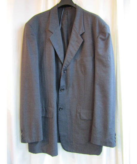 yohji yamamoto pour homme COSTUME D'HOMME グレー 三つ釦セットアップ HB-J88-157