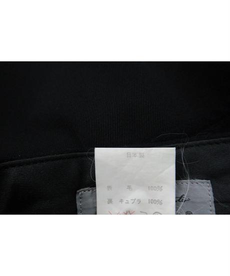 レア 90aw yohji yamamoto pour homme vintage フラノ ギャバ切替えデザインパンツ