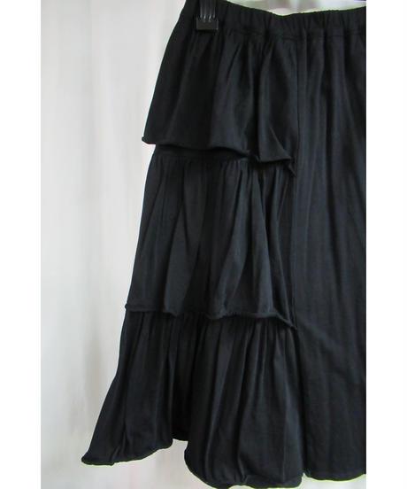 Y's for living yohji yamamoto フリルデザインフレアスカート YL-S1