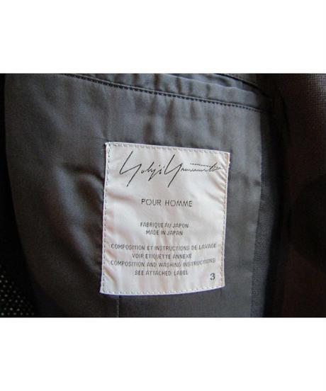 03ss yohji yamamoto pour homme 装飾デザインジャケット