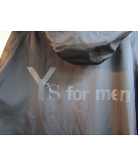 Ground Y 【Y's for men】yohji yamamoto フーデットロングコート