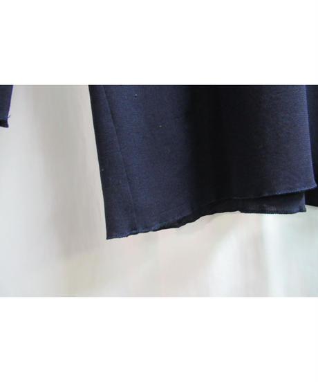 94ss yohji yamamoto femme vintage 紺 バックスリットデザインカットソー FT-B25-608