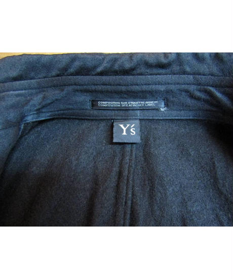 90's Y's yohji yamamoto vintage ミリタリースタンドカラーブルゾン YI-J13-002
