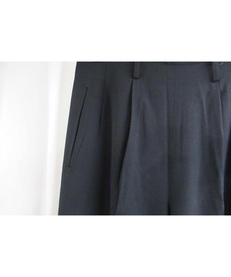 90's yohji yamamoto femme vintage シンプルテーパードパンツ FZ-P01-100
