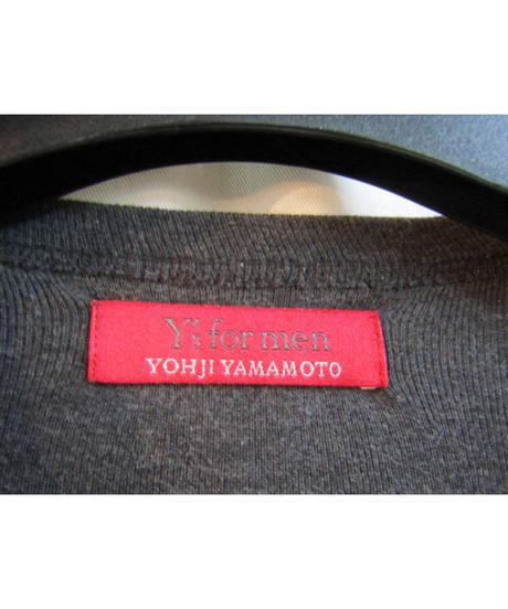 Y's for men yohji yamamoto 赤タグ ノーカラービック釦カーディガン ME-T67-055
