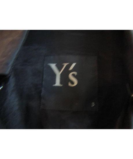 Y's yohji yamamoto ダブルロングトレンチコート YV-C01-209