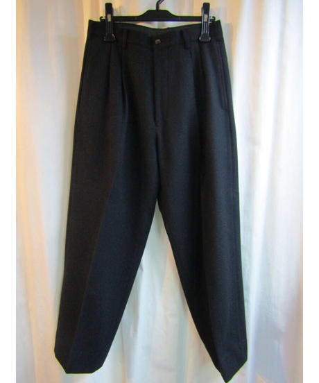 87aw yohji yamamoto pour homme  vintage 黒 ゼッケンセットアップ