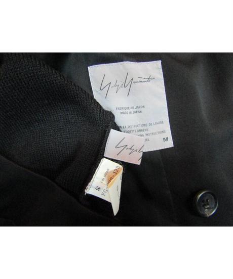 96aw yohji yamamoto femme vintage ニット切替デザインセットアップ FG-J33-102