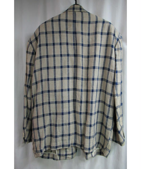 80's COMME des GARCONS HOMME PLUS vintage チェックレイヤードジャケット PJ-11050M