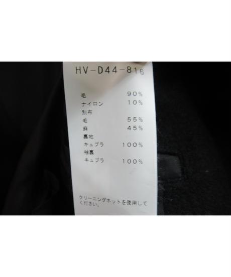 18aw yohji yamamoto pour homme 赤フラノ プリントコート