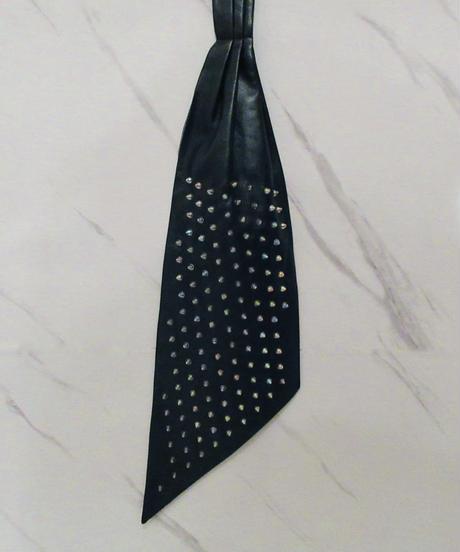 【受注生産】アスコットタイ(Cravatta in pelle ascotオーロラ)