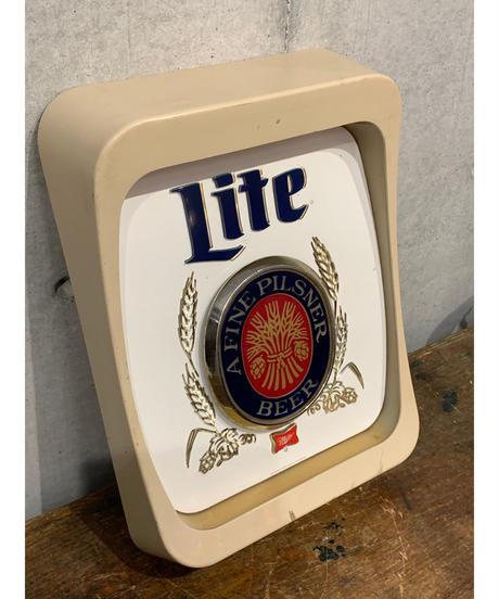 Miller Lite ヴィンテージ ライトサイン