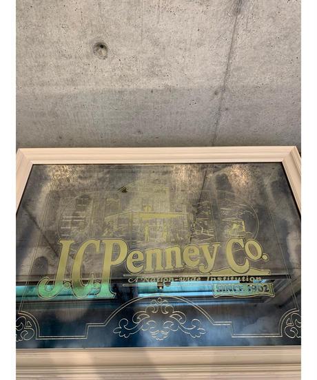 JC Penney Co. ヴィンテージ パブミラー