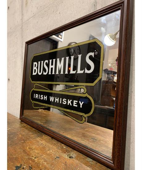 Bushmils ヴィンテージ パブミラー