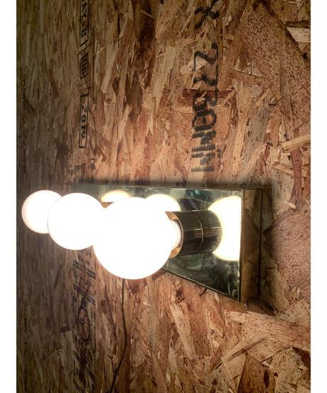 ハリウッド 3灯 ウォールランプ (ゴールド)