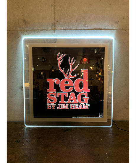 Jim Beam Red Stag ライトニングサイン