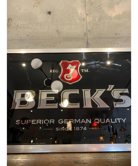 Beck's パブミラー