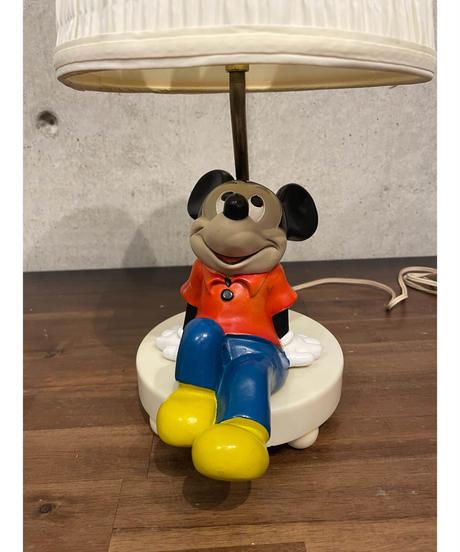 ヴィンテージ ミッキー テーブルランプ