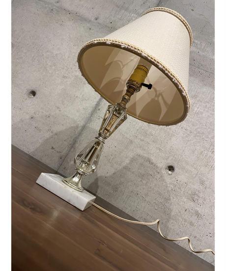 ヴィンテージ クリスタル テーブルランプ