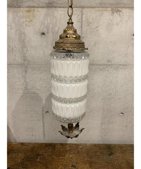 ヴィンテージ ホワイト ペンダントランプ