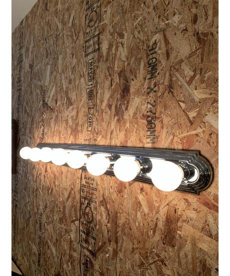 ハリウッド 8灯 ウォールランプ (シルバー)