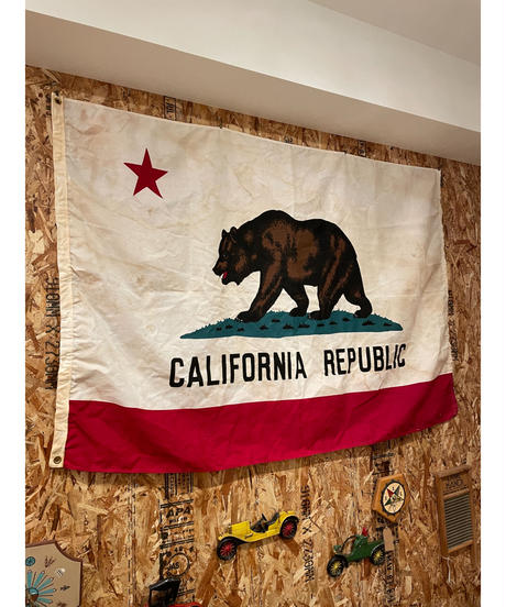 California ラージ フラッグ