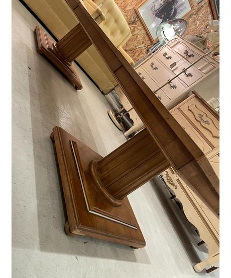 ヴィンテージ ウッド & マーブル センターテーブル