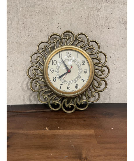 United Clock ヴィンテージ ウォール クロック