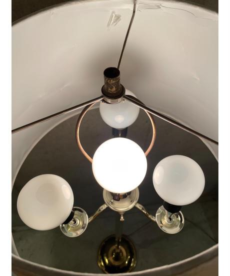 ヴィンテージ メタルベース 4灯 フロアランプ