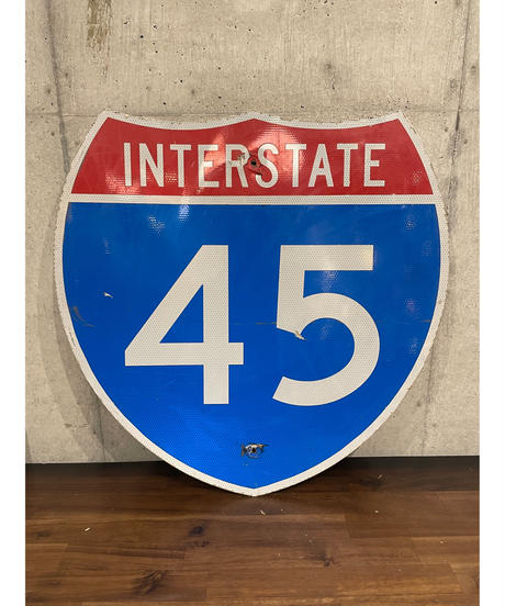 Interstate 45 FWY メタルサイン