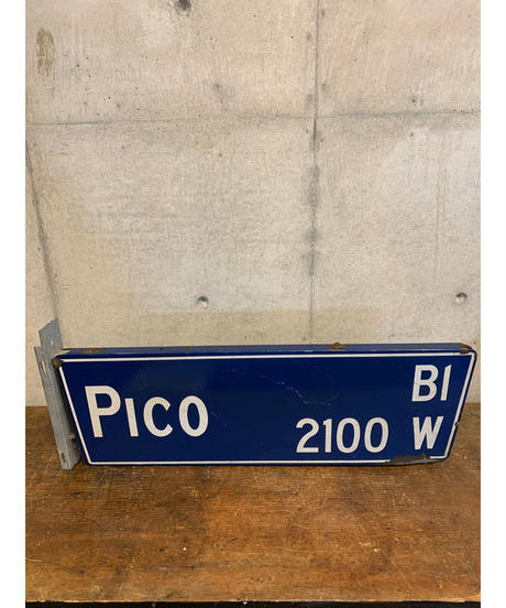 Pico Blvd ストリートサイン(ロサンゼルス)