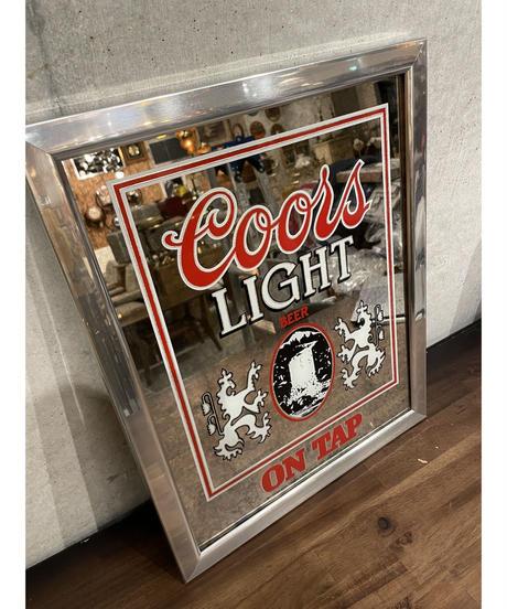 Coors Light パブミラー