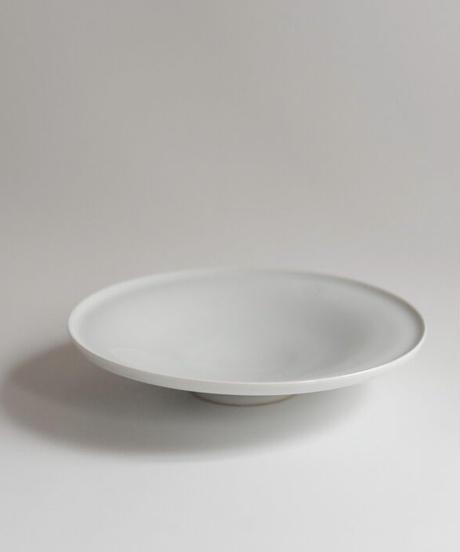 中里隆 白磁皿