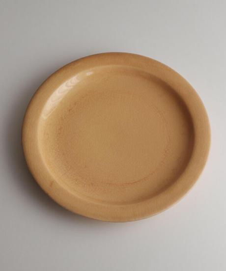 フランス 黄釉プレート2