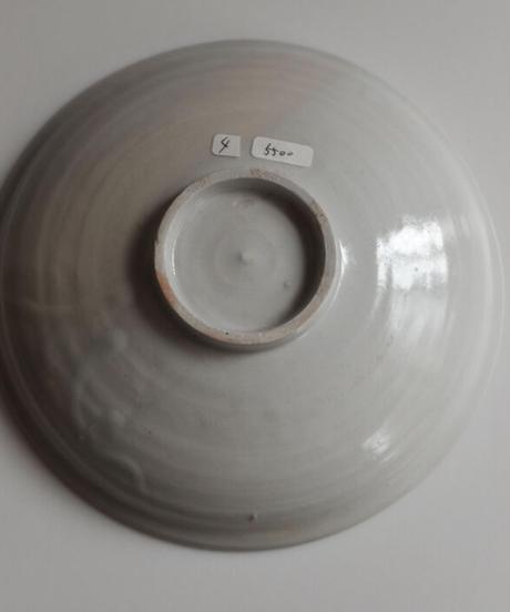 竹花正弘 白瓷6寸平皿 4
