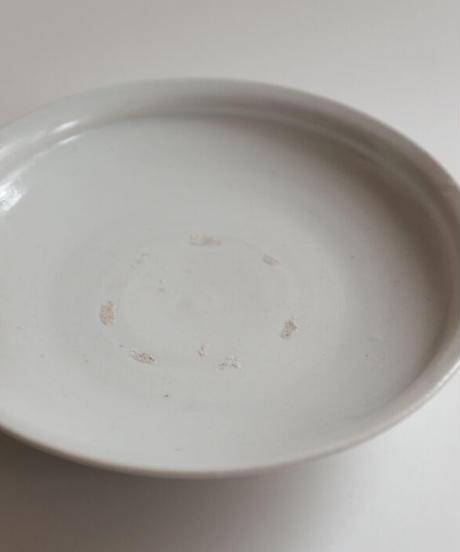 竹花正弘 白瓷6寸平皿 5