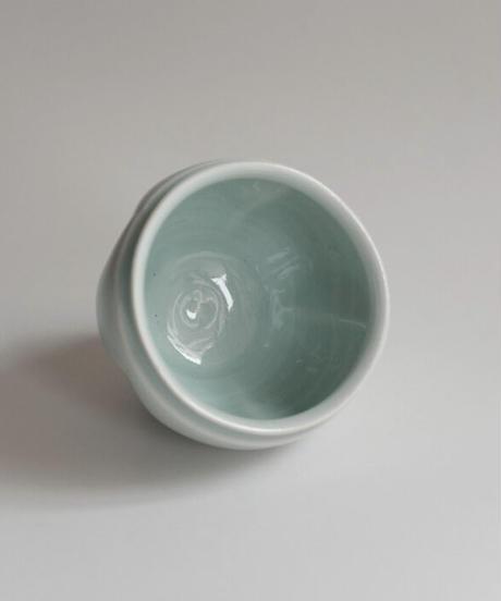 中里隆 青白磁瓜型湯呑2