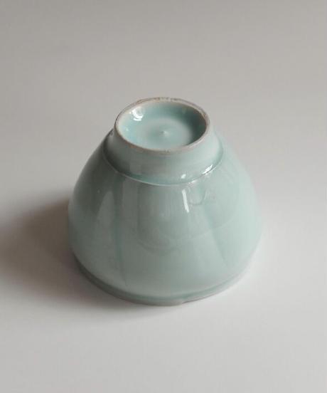 中里隆 青白磁瓜型湯呑1