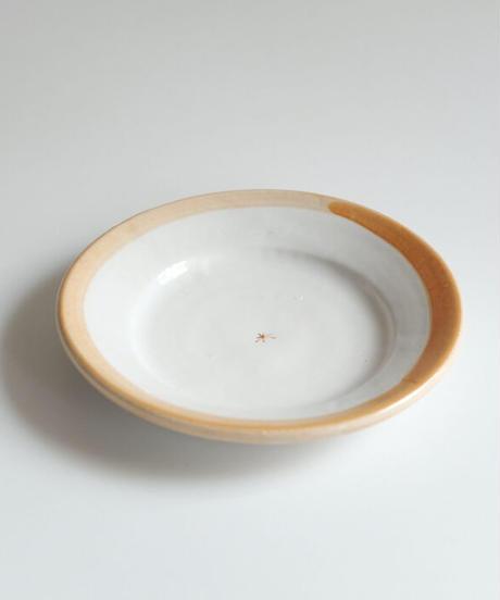 中田雄一  色絵厚手皿2