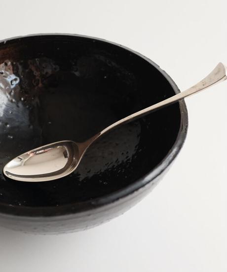 鉄釉七寸鉢