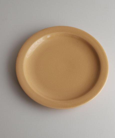 フランス 黄釉プレート1