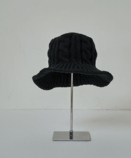 Knit bucket HAT