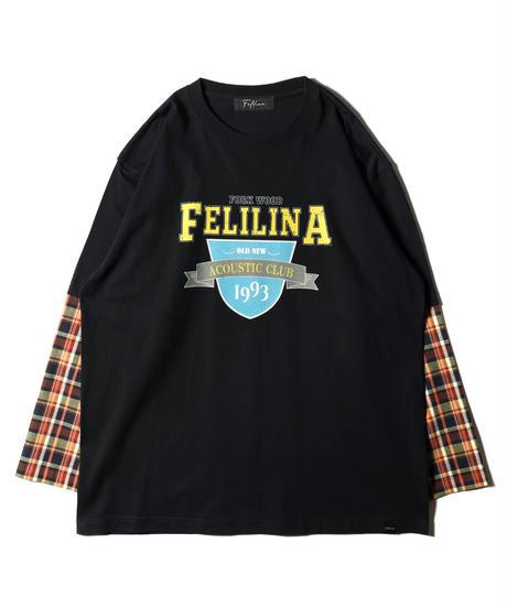 ドッキングロングスリーブTシャツ(COLOR C)
