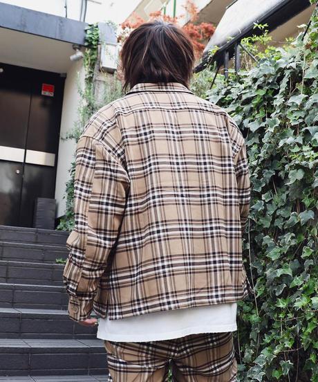 ステンカラーシャツジャケット