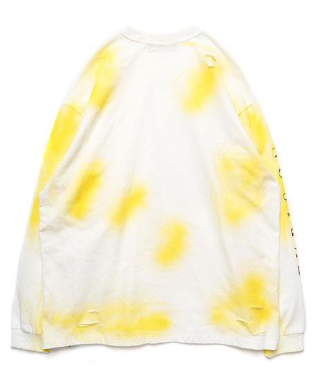 ダメージチェーンロングスリーブTシャツ