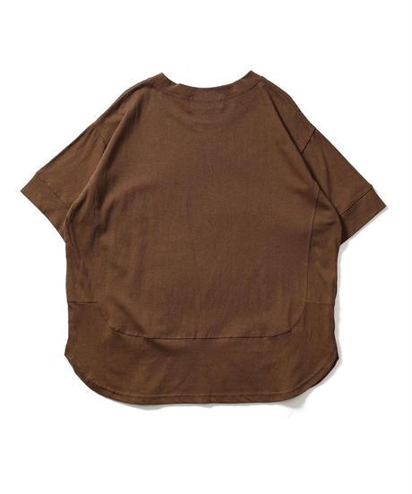 ラウンド切り替えTシャツ